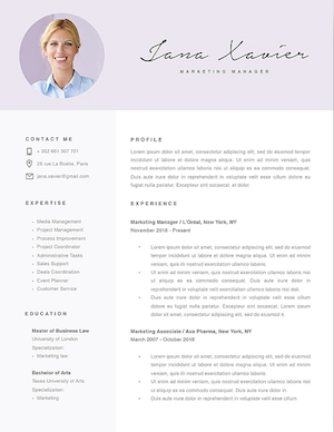 Everything From The Color To Fonts Is Editable Once You Download Resume Template