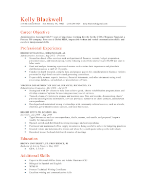 Good Resume Templates | The 17 Best Resume Templates Fairygodboss