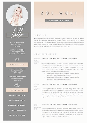 Academic Resume Template | The 17 Best Resume Templates Fairygodboss