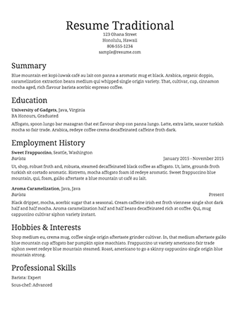 Simple Resume Templates | Fairygodboss