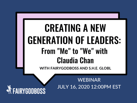"""Creating A New Generation of Leaders: From """"Me"""" to """"We"""" with Claudia Chan"""
