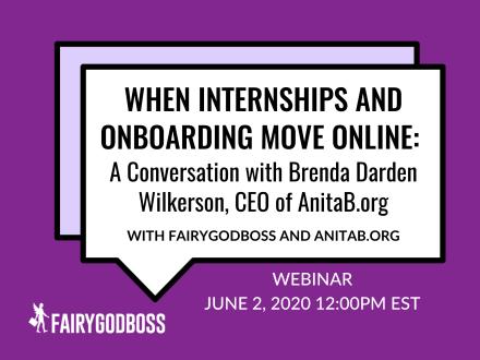 When Internships & Onboarding Move Online: A Convo with Brenda Darden Wilkerson
