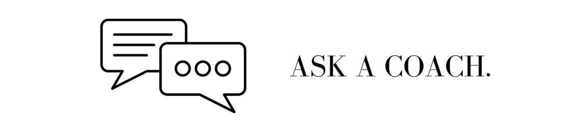 ASK-A-COACH: Imposter Syndrome header image