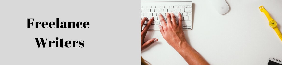 Freelance Writers header image