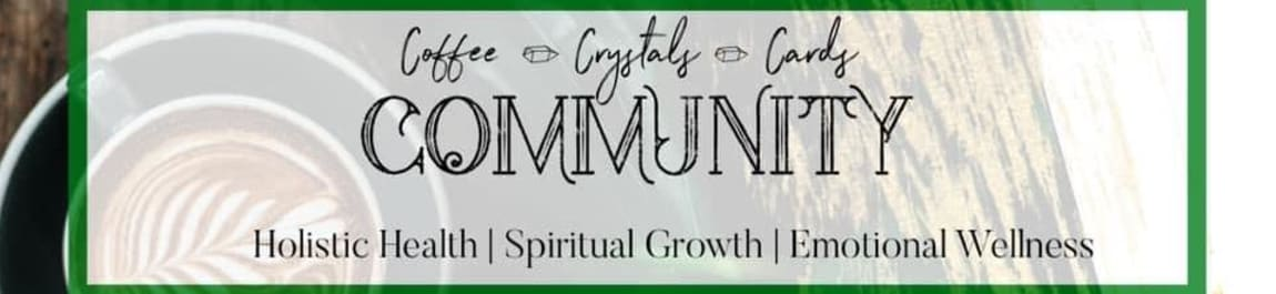 Stress Survival - Coffee, Crystals & Cards header image