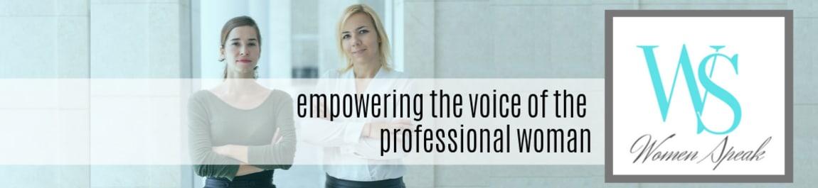 Women Speak header image
