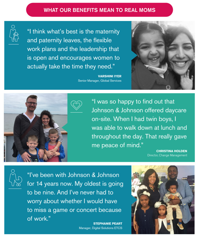 What Our Benefits Mean To Real Moms at J&J