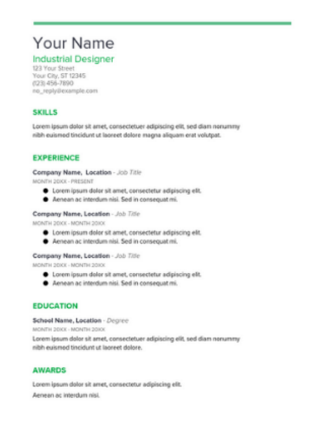 while basic starting your resume from scratch using one of googles resume templates will definitely save you a lot of time and theres the added benefit