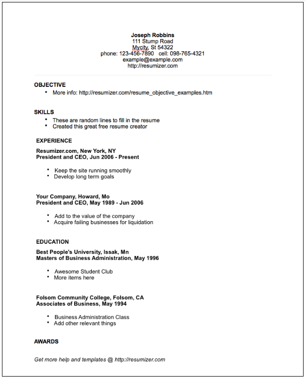 proper resume format the 17 best resume templates fairygodboss 1257
