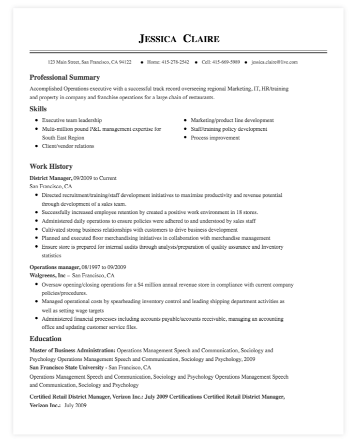 The 17 best resume templates fairygodboss myperfectresumes resume template thecheapjerseys Images