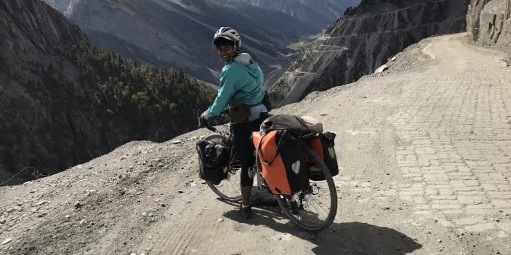 Bicycling Across the Himalayas